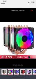 Air Cooler 3 Fans Rgb