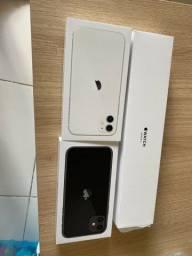 Caixa iPhone 11 e applewatch 3