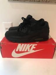 Nike air max 90 triple black (preto)