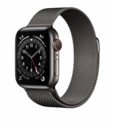 Apple Watch S6 40mm GPS + Celular Graphite Stainless Steel Case with Milanese Loop