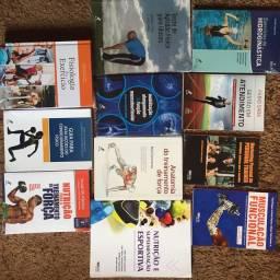 Livros P/ Curso de Ed. Física! Comprei por 1400! +Brindes! Leia a descrição!