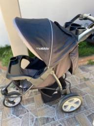Carrinho de bebê triciclo bebê conforto travel sistema kiddo
