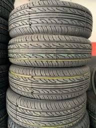 Título do anúncio: 04 pneus remolde 175/70/14 ( instalados )