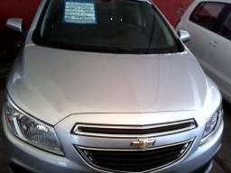 Gm - Chevrolet Prisma 1.0 LT, Ano 2014/2014, Cor Branca Completo