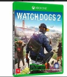 Vendo jogo de xbox onewatch dogs 2 ou troco em 1 ano xbox live gold