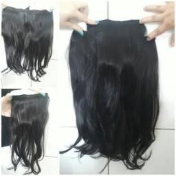 Mega Hair cabelo natural usado apenas por uma noite
