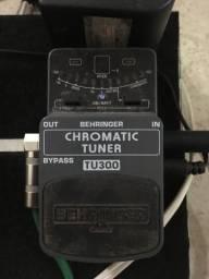 Pedal afinador behringer tu300 chromaric tuner