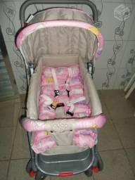 Carrinho de bebê funny rosa voyage