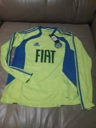 Camisa Palmeiras Adidas. Novo Tam M