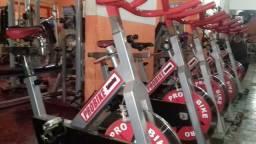 Bicicleta ergometrica spinning