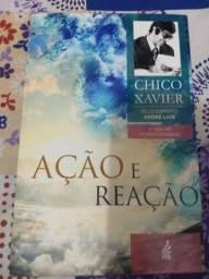Livro ação e reação - Chico Xavier