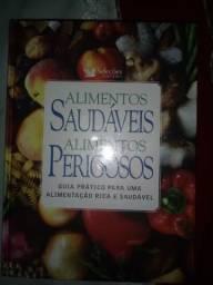 Livro alimentos saudáveis