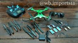 Carro com controle remoto e drones