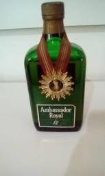 Whisky Escocês 12 anos - Ambassador Royal - adquirido há + 30 anos