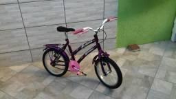 Bicicleta de menina aro 16