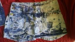 Lote shorts feminino