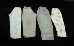 Lote calças menino