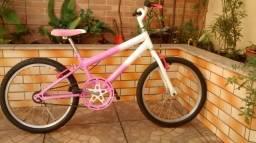Bicicleta feminina infantil aro 20