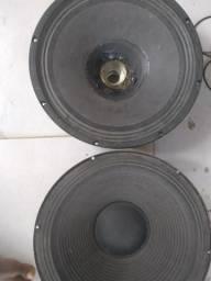 2 alto falante de 15 300 wts rms