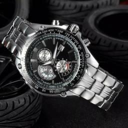 Relógio Masculino Curren - Aço Inoxidável