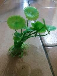 Planta artificial para aquário 10 cm