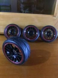 Rodas para Automodelo 1/10 12 mm