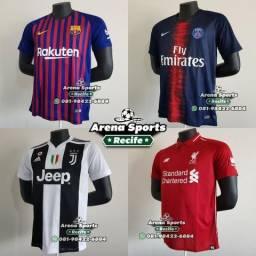Camisas Futebol - Seleções e Clubes - Grande variedade, pronta entrega!