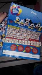 Cartela do extra com 49 selos