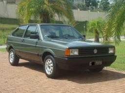 Vw - Volkswagen Gol Gl 1.6 1988 Raríssimo Grupo 3 Placas Preta