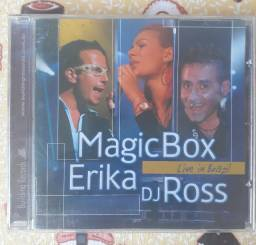 CD Magic Box, Erika & DJ Ross - Live in Brazil