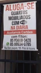 Suítes mobiliadas na diaria, apartir de 65 reais