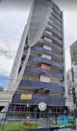 Apartamento com 1 dormitório para alugar, 60 m² por R$ 1.800/mês - Umarizal - Belém/PA