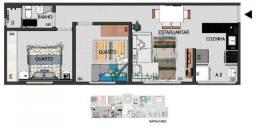 Apartamento com 2 dormitórios à venda, 51 m² por R$ 161.000,00 - Boa Esperança - Santa Luz