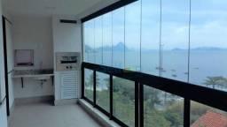 Apartamento com 3 dormitórios para alugar, 90 m² - Charitas - Niterói/RJ