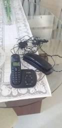 Telefone com secretária eletrônica