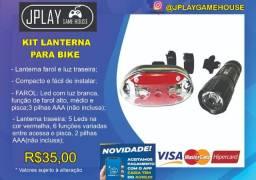 Kit Lanternas para Bike