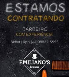CONTRATA-SE BARBEIRO