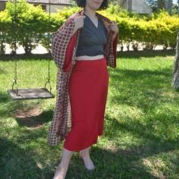 Kimono estampa Farm