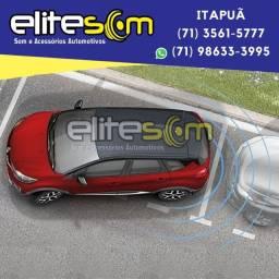 Sensor de Estacionamento com Display instalado na Elite Som