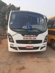 Micro onibus bepobus motoe Agrale com 33 lugares