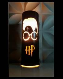 Luminária PVC Harry Potter