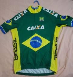 Camisa ciclismo CBC ert tamanho G