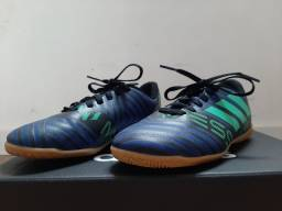 Chuteira de Futsal Adidas Nemeziz Messi Tango 17.4 Infantil