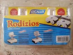 Rodízio para Fogão/Refrigerador/Freezer marca Secalux cor Branco