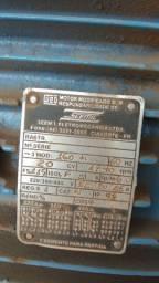 Motor Trifásico Weg 20 cv