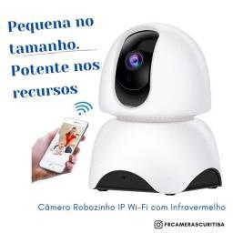 Camera ip robozinho Wi-Fi visão noturna