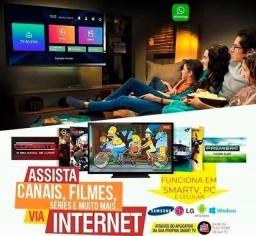 Tv em qualquer lugar com internet