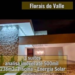 Florais do Valle - 3 Suítes -energia solar