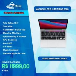 Macbook Pro 13 Touch Bar M1 8 core 512 Gb Silver (Late 2020)