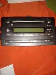 Multimídia rádio Toyota